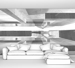 Абстрактный геометрический архитектурный фон с конкретной текстурой