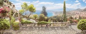 Вид на курорт с террасы