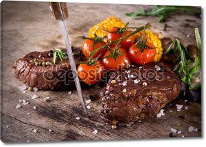 Восхитительный говяжий стейк