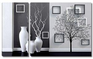 Черно-белый диптих