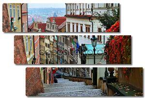 старая городская улица