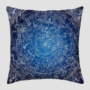 Иллюстрация синий северных созвездий