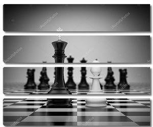 Король конфронтации и пешки