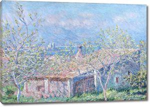 Моне Клод. Дом садовника в Антибе, 1888