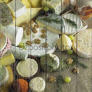 Сыр Натюрморт с фруктами