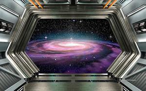 Отсек космического корабля