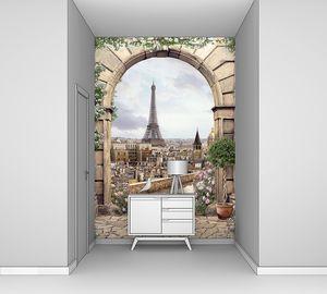 Эйфелева башня в арке