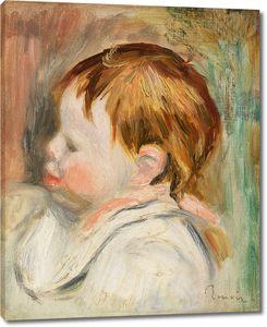 Ренуар. Голова младенца