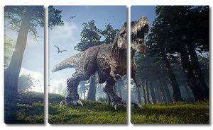 Жуткий динозавр