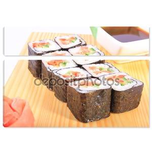 Суши Маки с овощами