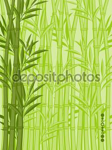 Абстрактный цветочный фон с бамбука