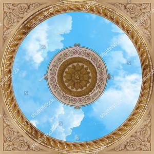 Плафон с небом