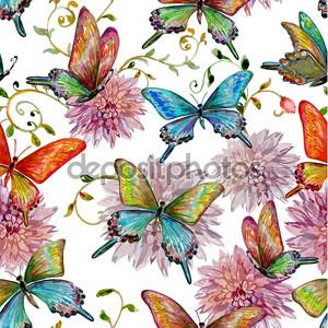 летающие бабочки текстуры