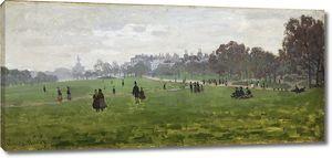 Клод Моне. Грин Парк в Лондоне