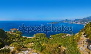 Остров Sveti Stefan - Черногорию
