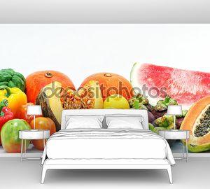 фрукты, напитки и еда