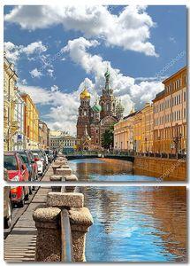 Санкт-Петербург в летний день