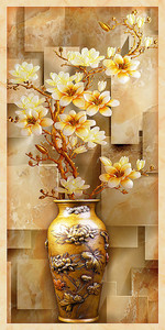 Букет в китайской вазе