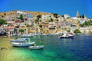 Удивительная Греция - живописный остров Сими