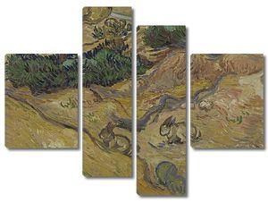 Ван Гог. Поле с двумя кроликами