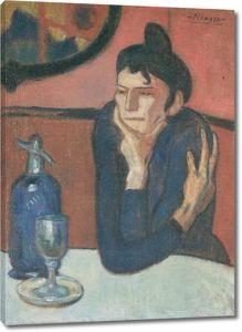 Пикассо Пабло. Любительница абсента