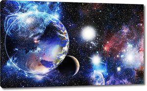 Земля движется в пространстве