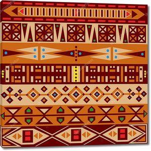 Орнамент выдержанный в африканских традициях