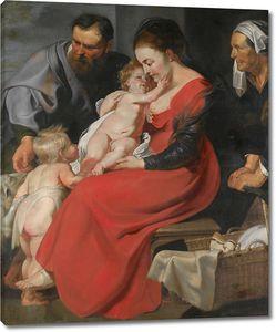 Рубенс. Святое Семейство со святой Елизаветой и маленьким Иоанном