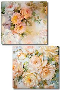 Цветочный цветочные бумага