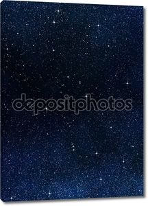 Звёзд в пространстве или ночное небо