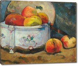 Поль Гоген. Натюрморт с персиками