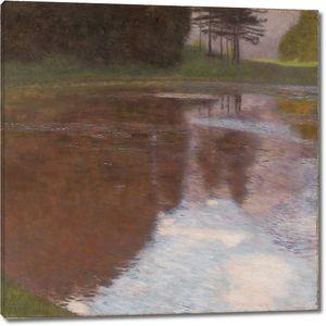 Густав Климт. Тихий пруд близ Голлинга, Зальцбург