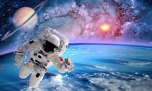 Приветствие астронавта