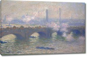 Моне Клод. Мост Ватерлоо, Пасмурно 1903