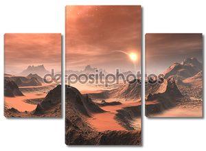 Чужеродные пустыни восход