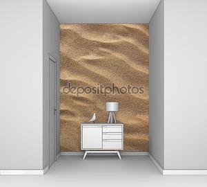 Песок волнистый