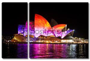 Сиднейская Опера на фестивале ярких