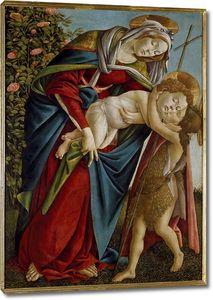 Мадонна с младенцем и юным Иоанном Крестителем