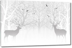 Парочка оленей