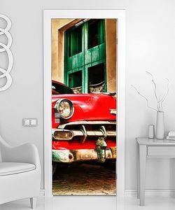 Куба старый автомобиль