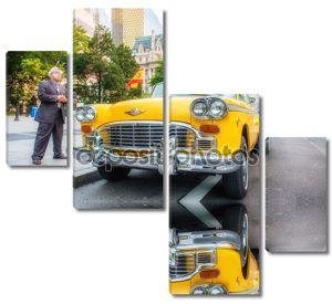 Такси на улице Нью-Йорка