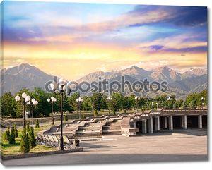 парк с гор