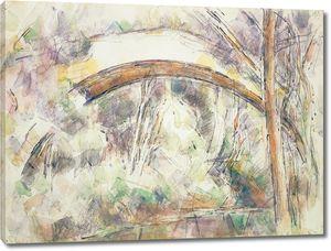 Поль Сезанн. Река у моста трех источников
