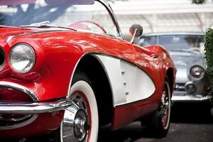 Хуа Хин - 19 декабря: chevrolet corvette кабриолет, 1960. VIN