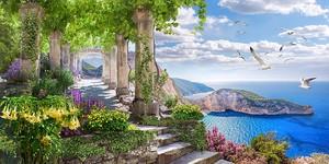 Каменная лестница к морю