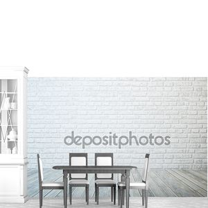 пустая белая комната