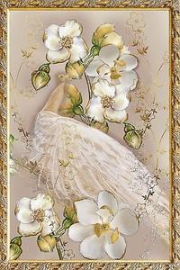 Картина с орхидеей