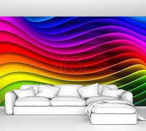 Разноцветный фон радужный