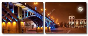 Ночной город Витебск