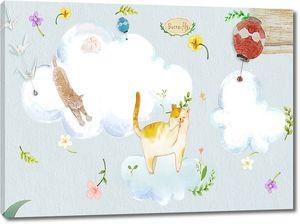 Коты в облаках